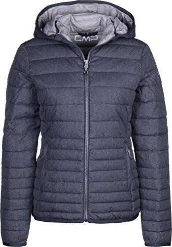 CMP WOMAN ZIP HOOD JACKET - 38