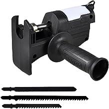 Henreal Elektrische reciprozaag, boormachine, gemodificeerde elektrische zaag, draagbaar houtbewerkingsgereedschap voor thuis