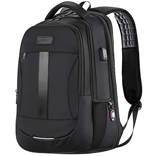 Anti-Theft Laptop Backpack 15.6-17 Inch Business Travel Work Computer...
