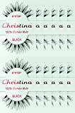 12packs Eyelashes - #WSP (Christina)