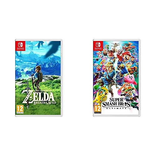 The Legend of Zelda : Breath of the Wild & Super Smash Bros Ultimate