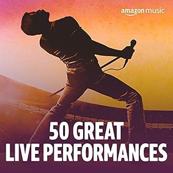 50 Great Live Performances