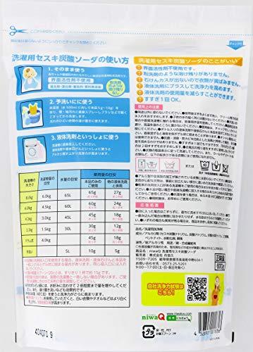 丹羽久 ニワキュー 洗濯補助用 セスキ炭酸ソーダ 600g