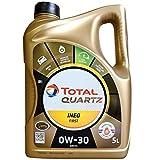 Total Quartz INEO première 0W-30Huile Moteur Entièrement synthétique Low Saps Car, 5Litre