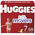 Baby Diapers Size 7, 68 Ct, Huggies Little Movers