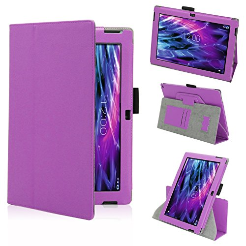 NAmobile Tasche Hülle für Medion Lifetab S10366 S10365 S10346 Schutzhülle Tablet Cover Case Bag, Farben:Lila