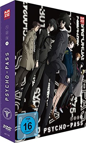 Psycho-Pass - Staffel 1 - Vol.4 - [DVD]