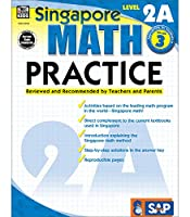 Singapore Math – Level 2A Math Practice Workbook for 3rd Grade, Paperback, Ages 8–9 with Answer Key (Singapore Math Practice)