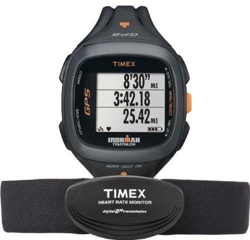 Timex Ironman ~ allenatore run 2.0 ~ velocità GPS e distanza con frequenza cardiaca ~ T 5K742 F7