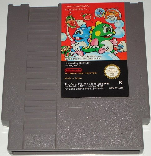 Bubble Bobble 1 (Nintendo NES) lose