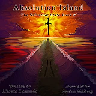 Absolution Island  audiobook cover art