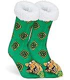 Scooby Doo Calcetines Termicos Mujer, Calcetines Antideslizantes con Forro Polar, Calcetín Termico Mujer, Zapatillas de Estar por Casa, Regalos Navidad Mujer