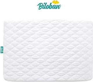 Biloban Pack N Play Mattress Pad - Comfort Cotton Surface, 100% Waterproof, 39