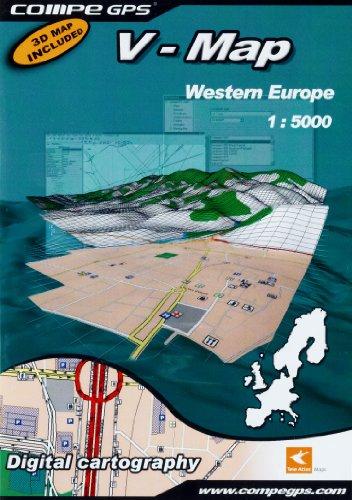 TwoNav Carte Digitale routière Zone Europe de l'Ouest