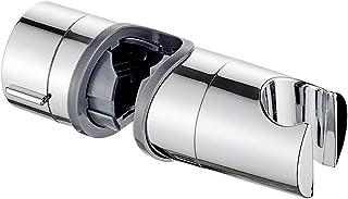 IBERGRIF M20404 ABS wanddouchehouder, douchekophouder, handdouche, chroom, zilver