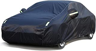 Compatible With Fiat 500 Full Exterior Covers/High-Quality Car Body Cover All-Weather Rainproof/Snowproof/Windproof/Breath...