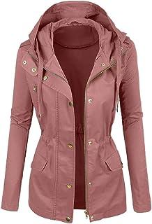 Women Solid Jacket Coat, Ladies Winter Fashionable Plain Color Short Lapel Motorcycle Leather Blouses Outwear