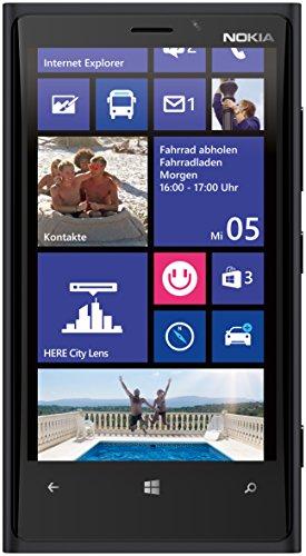 Nokia Lumia 920 32GB Unlocked 4G LTE Windows Smartphone w/ PureView Technology 8MP Camera - Black Michigan