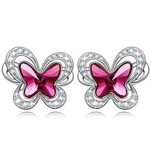 KATE LYNN Hada Mariposa Mujers Pendientes Cristales SWAROVSKI Joya Regalo Mujer Cumpleaños de...