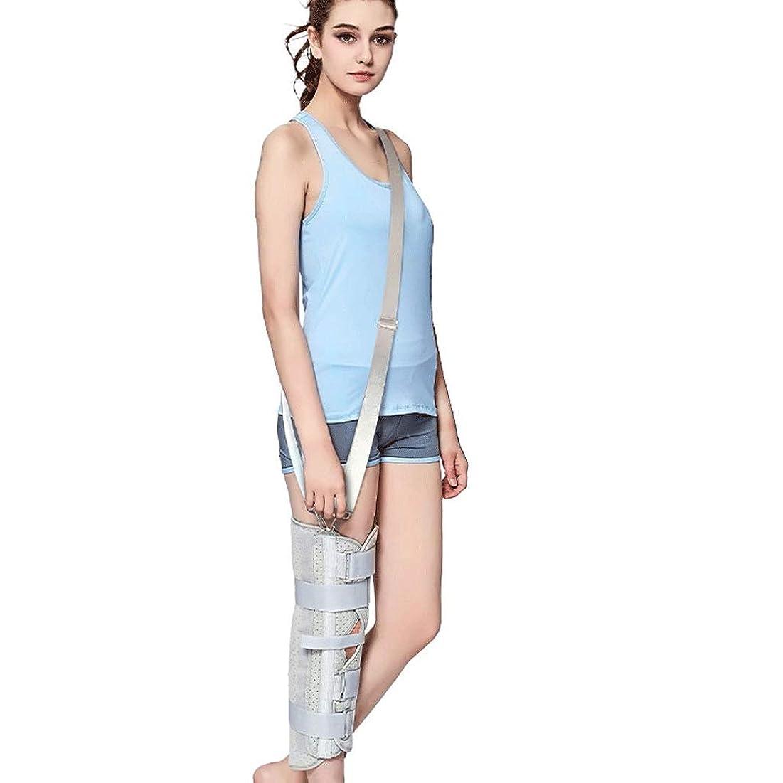 ベッツィトロットウッド間に合わせディスパッチ膝パッド膝サポート膝関節サポート膝脛骨プロテクター脚下肢サポート (色 : L l, サイズ さいず : Strap)