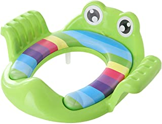 myonly Kids Children's Potty Toilet Seat Soft Training Seat Baby Infant Potty Toilet Chair Covers Foldable Traval