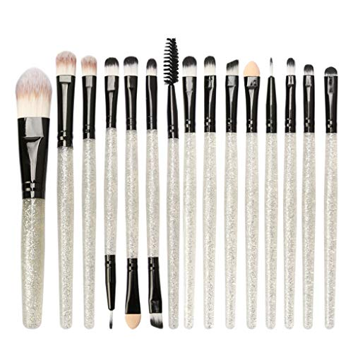 Dorical Make-up-Pinsel set 15 Stück/Professionellen Schminkpinsel Kosmetikpinsel Lidschatten...