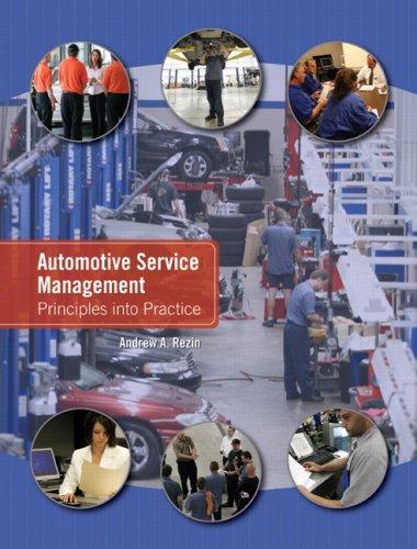 Automotive Service Management: Principles into Practice