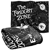 Twilight Zone Another Dimension Officially Licensed Silky Touch Super Soft Throw Blanket 50' x 60'