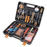 GYL TOOL 47 Piezas Hogar Kit de Herramientas Conjunto de Herramientas de Mano Set de telecomunicaciones Inspección de Mantenimiento Conjunto Electricista