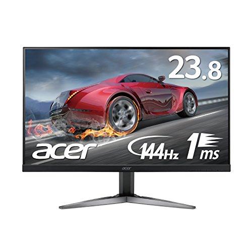 【Amazon.co.jp限定】Acer ゲーミングモニター ディスプレイ KG241YUbmiipx 23.8インチ/WQHD/1ms/144Hz/TN/...