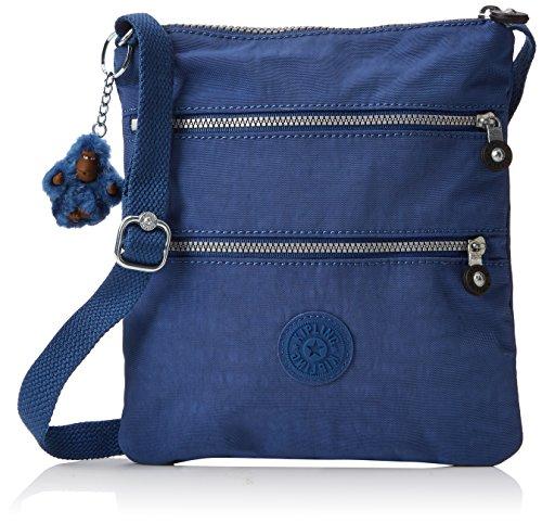 Kipling - New Rizzi, Bolsos bandolera Mujer, Blau (Jazzy Blue), 2.5x21x23 cm (B x H T)