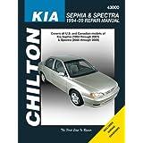Chilton Repair Manual Kia Sephia & Spectra 1994-09 (Chilton's Total Car Care Repair Manuals)