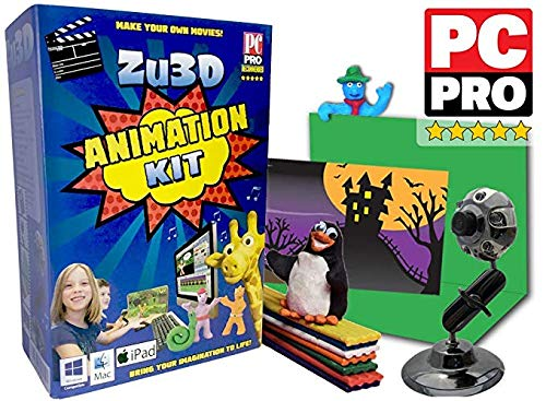 Zu3D Animation Kit for Windows PCs, Apple Mac OS X and iPad iOS: complete...
