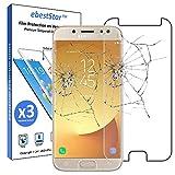 ebestStar - kompatibel mit Samsung Galaxy J7 2017 Panzerglas x3 SM-J730F Schutzfolie Glas, Schutzglas Bildschirmschutz, Bildschirmschutzfolie 9H gehärtes Glas [Phone: 152.4 x 74.7 x 7.9mm, 5.5'']