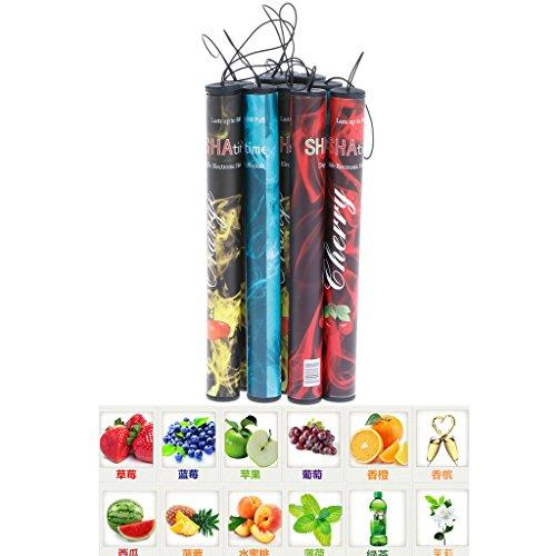 E-Zigarette Kit, Zigarette Fruits Flavor 500 Puffs Einweg-Dampf Huka Stock-Feder-Elektronik