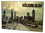 The Walking Dead Format: 80x60 Leinwandbild, TOP-Qualität!
