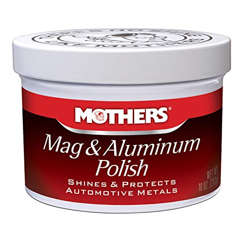 Our #1 Pick is the Mothers Mag & Aluminium Polish