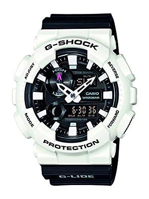 Casio G-Shock – Reloj Hombre Analógico/Digital con Correa de Resina – GAX-100B