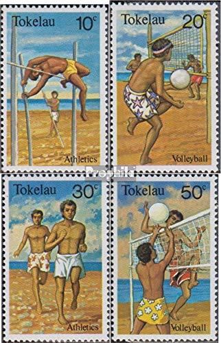 Tokelau 70-73 (Completa Edizione) Volume 1981 completaett 1981 Sport (Francobolli per i Collezionisti) Giochi con la Palla Senza Calcio