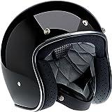 BILTWELL Bonanza 3/4 Helmet Gloss Black - X-Large