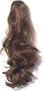 Womens Claw Ponytail Clip in Hair Extensions 21 inches Long Straight Hairpiece