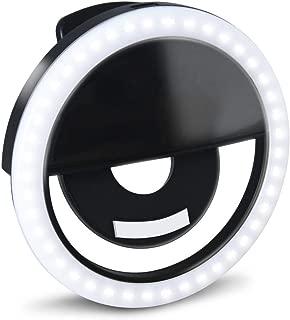 small ring light clip on