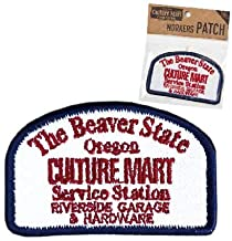 カルチャーマート ワーカースタイル ワッペン WORKERS PATCH アップリケ エンブレム アイロンパッチ 刺繍 ロゴ 9.WHITE(CULTURE_MART)