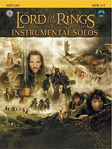 The Lord of the Rings, The Motion Picture Trilogy, w. Audio-CD, for Alto Saxophone: Howard Shore