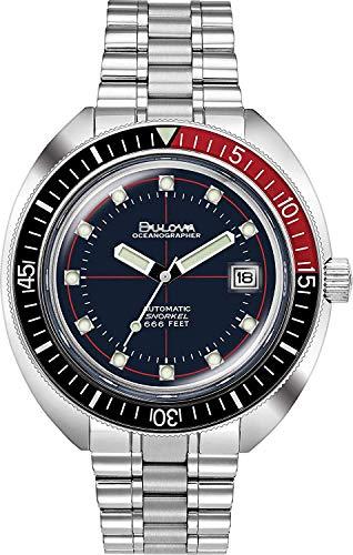 Bulova Reloj Analógico para Hombre de Automático con Correa en Acero Inoxidable 98B320