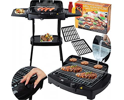 """Livemore \""""Gril-Master\"""" BBQ Barbeque Elektro-grill Cool-Touch Elektrischer Grill Elektrogrill Balkon Tischgrill (Standgrill)"""