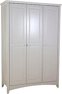 Chelsea White Wardrobe Door  1260W 530D 1870H  Full Hanging with Shelf  Bedroom Furniture