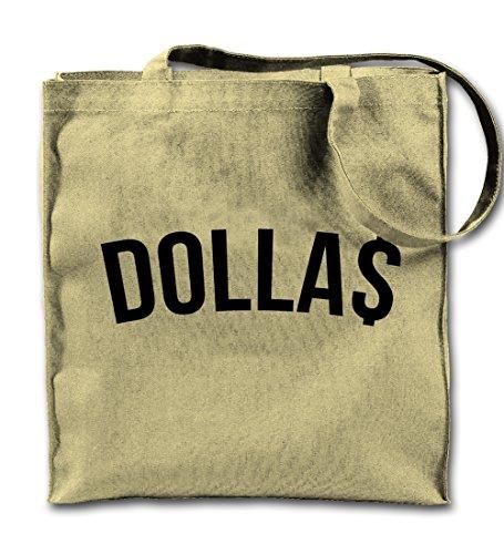 Dollas Dollar Money Komisch Natürliche Leinwand Tote Tragetasche, Tuch Einkaufen Umhängetasche