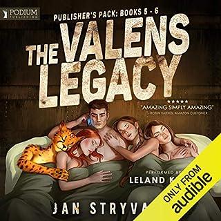 Page de couverture de The Valens Legacy: Publisher's Pack 3