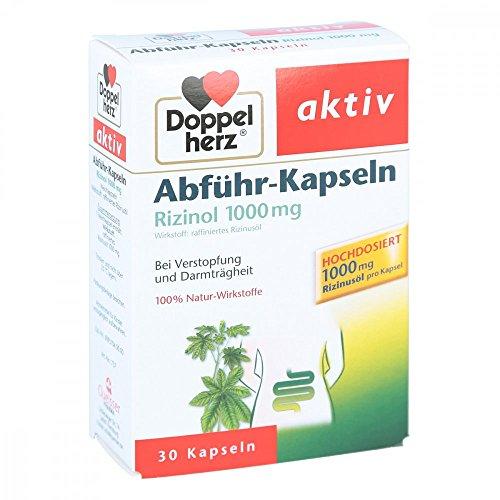 DOPPELHERZ Abführ-Kapseln Rizinol 1.000 mg 30 St